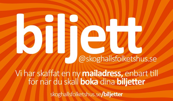biljett banner